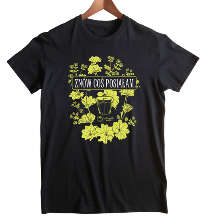 koszulka junior — doniczka